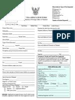 thai SL visa