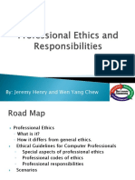 Professional Ethics and Responsibilities (1)