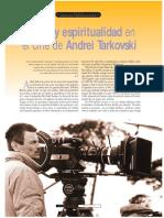 Leopoldo Cervantes Poesia y Espiritualidad en El Cine de Tarkovsky