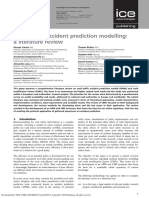 Road Traffic Accident Prediction Modelling