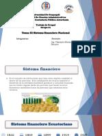 Grupo #1 El Sistema Financiero
