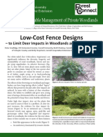 Low cost fencing deaigns
