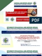 MUET Presentation for Ehsaas Undergrduate Program 27 Nov 2019