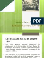 Relevancia Del Magisterio y La Usac en La Revolucion de 1944(1)