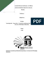 Trabajo Psicologia Educativa Metodologia