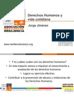Derechos Humanos y Vida Cotidiana