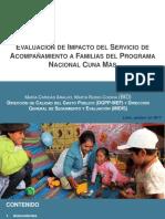 MIDIS Evaluacion Del SAF Cuna Mas