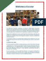 Día de La Biblioteca Escolar
