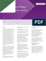 AntiSlavery Policy