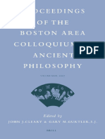 (Proceedings of the Boston Area Colloquium in Ancient Philosophy, 23) John J. Cleary, Gary M. Gurtler, (editors)-Proceedings of the Boston Area Colloquium in Ancient Philosophy, Volume XXIII, 2007-Bri.pdf