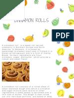 Rashida Borsadwala - Cinnamon Rolls