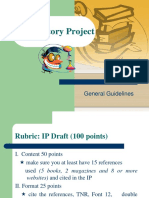 Investigatory Project Parts.ppt