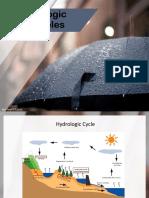 Hydrologic Principles