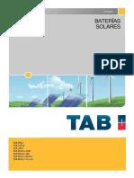 Catalogo Batería Tab Solar