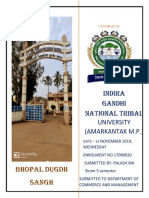 REPORT ON INDUSTRIAL VISIT SANCHI BHOPAL