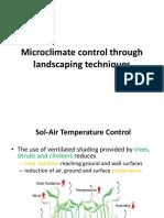 Microclimate Landscape