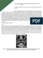 A Base Fisiopatológica Para o Olivar Hipertrófico Degeneration - 2013