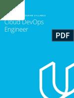 Cloud+DevOps+Nanodegree+program+Syllabus