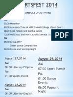 Powerpoint Sportsfest 2014