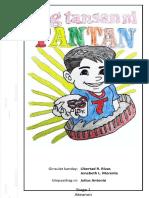 Ang Tansan Ni Tantan - Cover (Legal - 8.5x14in Size)