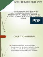 DISEÑO DE HORNO PARA MATERIALES NO FERROSOS
