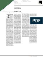 Il capitalismo dei dati - Milano Finanza del 30 novembre 2019