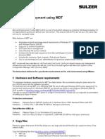 Windows Deployment Using MDT