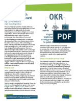 OKR and Balanced Scorecard