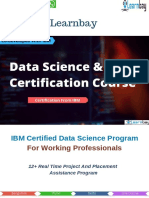IBM Certified Data Science Course Brochure _ Learnbay - 2019