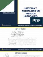 HISTORIA DE LOS RIESGOS LABORALES