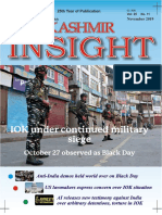 Kashmir Insight  November 2019