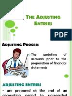 Chapter 11 Adjusting Entries