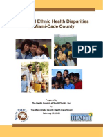 Racial and Ethnic Health Disparities in Miami-Dade