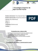 Investigacion de Redes y Comunicion Social