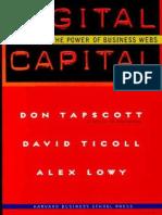 Don Tapscott David Ticoll David Ticoll Alex Lowy - Digital Capital_ Harnessing the Power of Business Webs-Harvard Business School Press (2000)