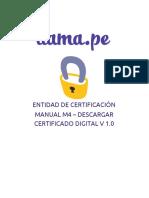 Manual - Descargar Certificado Digital.pdf