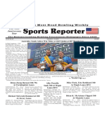 December 4 - 10, 2019  Sports Reporter