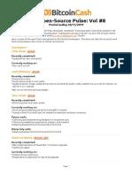 BCH Open-Source Pulse Newsletter Vol 8