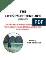 The Lifestylepreneurs Guidebook