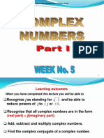 Lecture 05 Complex Number Part 01