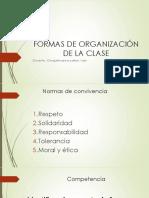Formas de Organización de La Clase Unsa
