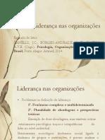 Liderança Nas Organizações