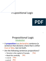 Propositional Logic Converted