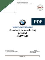 Proiect Marketing BMW M5