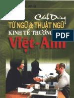 [Viet - Anh] Cach Dung Tu Ngu Va Thuat Ngu Kinh Te Thuong Mai