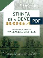 Stiinta de a Deveni Bogat - Ghid Practic