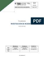 P-MTZ-SSO-002 Investigación de Incidentes Rev_09