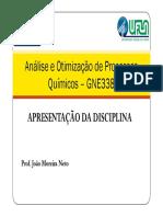 Apresentação GNE338