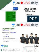 [L9] - Wave Optics - 20th Oct