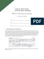 Openloop Motor Modeling